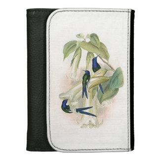 Kolibri-Vogel-Blumen-Tier-Tier-Geldbörse