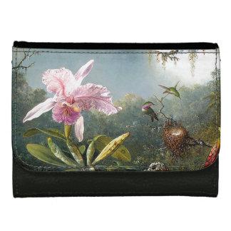 Kolibri-Vogel-Orchideen-Blumen-Regen-Wald