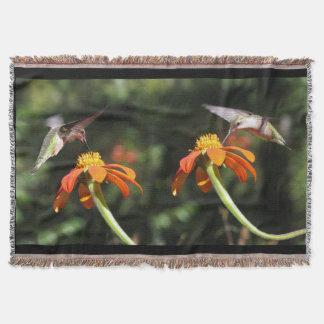 Kolibri-Vogel-Tier-Blumensonnenblume Decke
