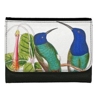 Kolibri-Vogel-Tier-Tier-Blumen-Geldbörse