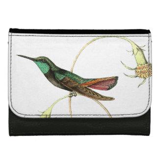 Kolibri-Vogel-Tier-Tier-Blumengeldbörse