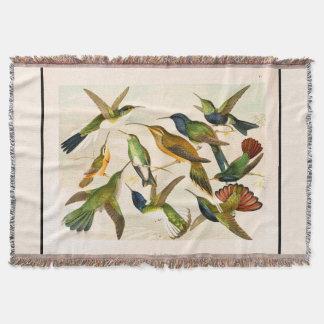 Kolibri-Vogel-Tier-Tier-Wurfs-Decke Decke