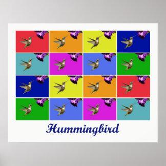 Kolibri x16 (betitelt) plakat