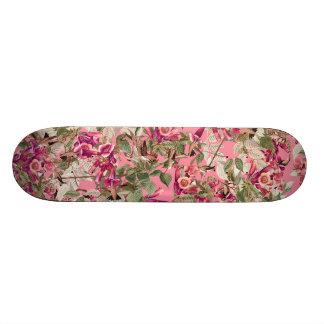 Kolibris BlumenAudubon BlumenSkateboard 18,7 Cm Mini Skateboard Deck