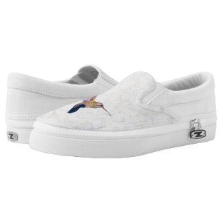 Kolibris Pastell Slip-On Sneaker