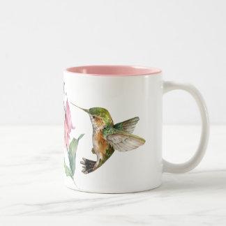 Kolibris Zweifarbige Tasse