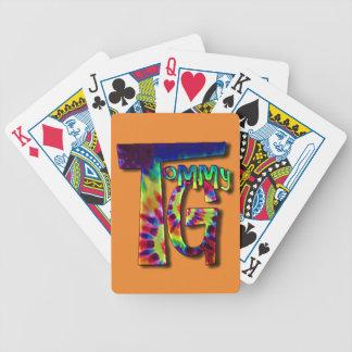 Kollektor-Kartenstapeles Tommys G Bicycle Spielkarten