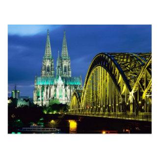 Köln-Kathedrale Postkarte