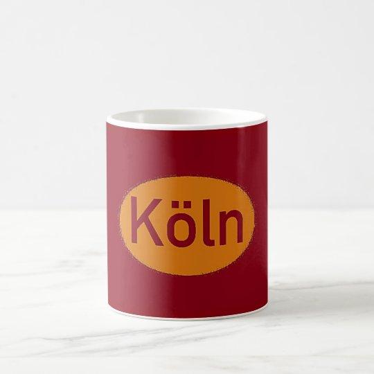 Köln Logo Kaffeetasse