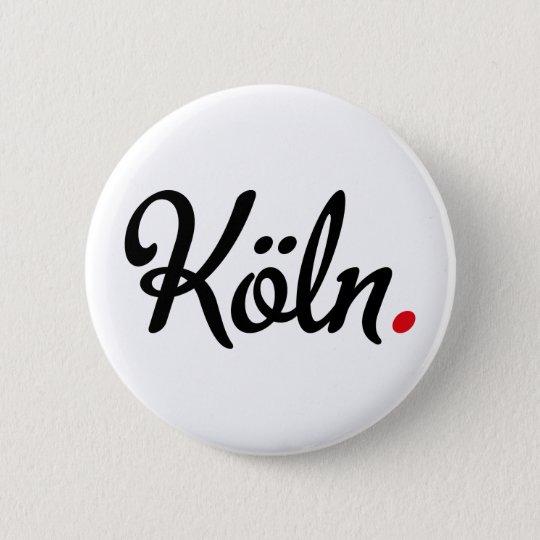Köln Runder Button 5,1 Cm