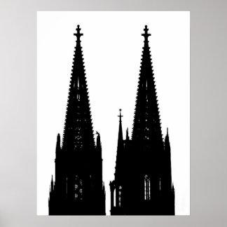 Kölner Dom Poster