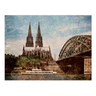 Kölner Dom Postkarte