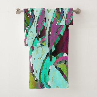 Kolorful Kelp Badhandtuch Set