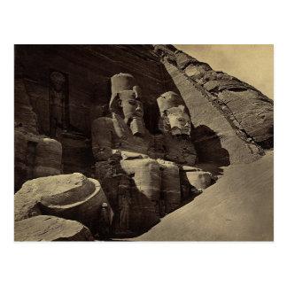 Kolossale Zahlen, Abu Sunbul, Ägypten Postkarte