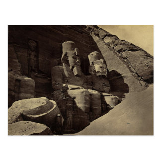 Kolossale Zahlen, Abu Sunbul, Ägypten Postkarten