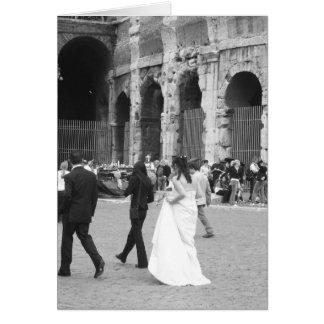 Kolosseum-Braut Karte