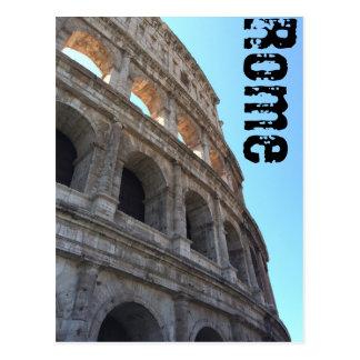 Kolosseum-Detail-Postkarte Postkarte