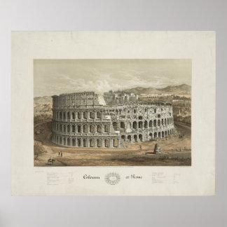 Kolosseum in Rom Poster