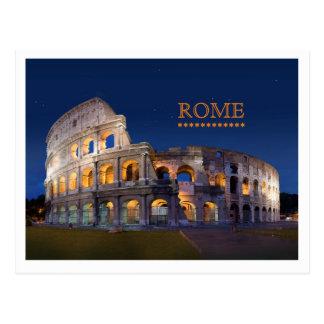 Kolosseum-Rom-Postkarte Postkarte