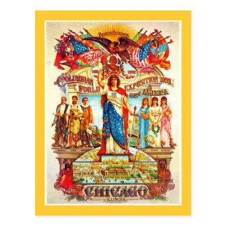 Kolumbianische Ausstellung - Postkarte