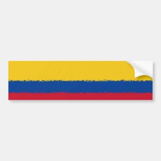 Kolumbianische Flagge Autoaufkleber
