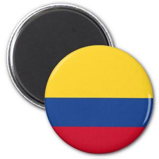 Kolumbianische Flagge Runder Magnet 5,1 Cm
