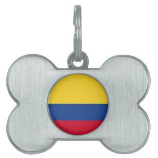 Kolumbianische Flagge Tiermarke