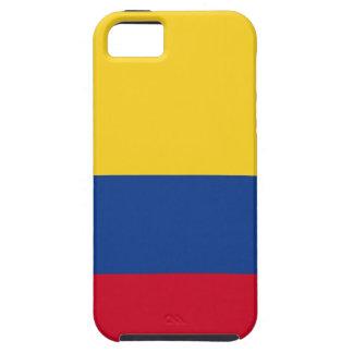 Kolumbianische Flagge Tough iPhone 5 Hülle