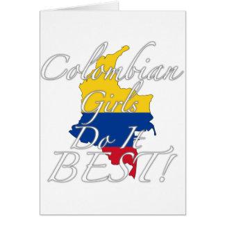 Kolumbianische Mädchen tun es Bestes! Karte