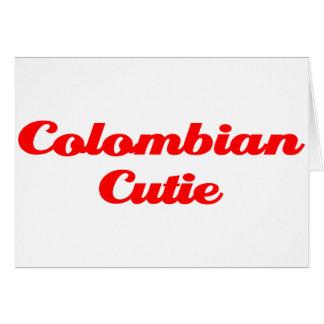Kolumbianische Süsse Karte