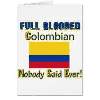 Kolumbianischer Bürgerentwurf Karte