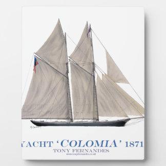 Kolumbien 1871 fotoplatte