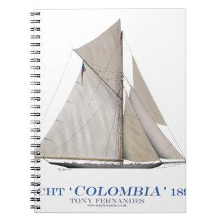 Kolumbien 1899 notizblock