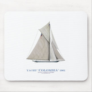 Kolumbien 1901 mousepad