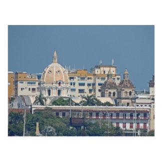 Kolumbien-Cartagena Ufergegend Postkarte