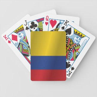 Kolumbien-Flagge Bicycle Spielkarten