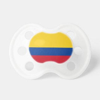 Kolumbien-Flagge Booginhead Schnuller