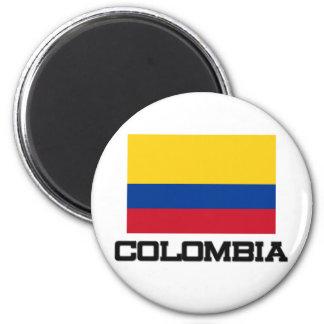 Kolumbien-Flagge Runder Magnet 5,7 Cm