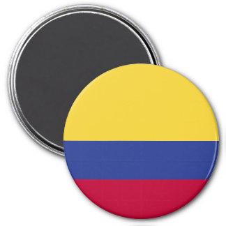 Kolumbien-Flagge Runder Magnet 7,6 Cm