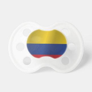 Kolumbien-Flagge Schnuller