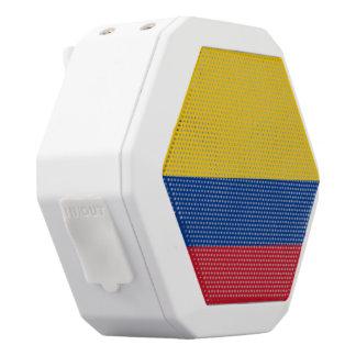 Kolumbien-Flagge Weiße Bluetooth Lautsprecher