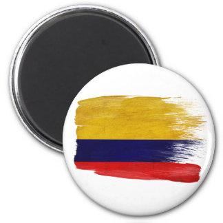 Kolumbien-Flaggen-Magneten Runder Magnet 5,7 Cm