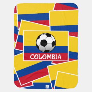 Kolumbien-Fußball Babydecke