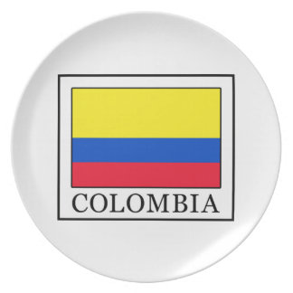 Kolumbien Melaminteller