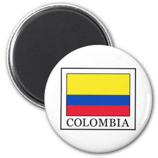 Kolumbien Runder Magnet 5,1 Cm