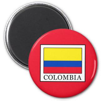 Kolumbien Runder Magnet 5,7 Cm