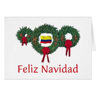 Kolumbien-Weihnachten 2 Karte