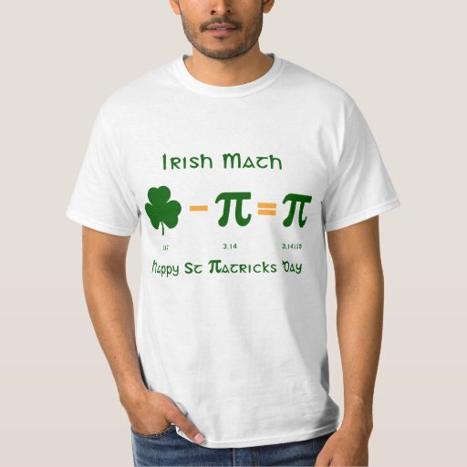 KOMBINATIONS-T-Shirt St. Patricks Tages-u. T-Shirt