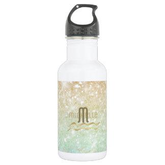 Kombinierte Glitzer-Steigungs-Opalgold ID435 Trinkflasche