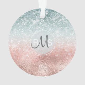 Kombiniertes Glitzer-Steigungs-Glas ID434 Ornament
